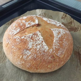 Diana - sourdough pain naturel -  first attempt