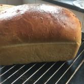 Hans van Splunter - Sandwich loaf and whole weat levain from this Koningsdag