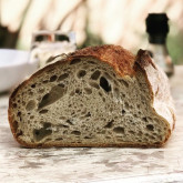 "Stefano Ferro - Sourdough bread - spelt flour and ""Tipo 2"" flour"
