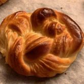 Stefano - Croissants and Pain au Chocolat - The recipe is your Classic French Croissants: I used French T55 flour and President beurre doux. The Chocolate is Swiss, Villars 70%. Hand made lamination.