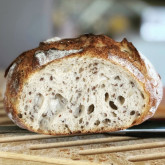 Stefano - Sourdough Pain naturel with flax and sunflower seeds