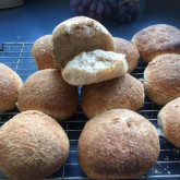 Sue Hawes - Pain Naturel and soft sourdough rolls