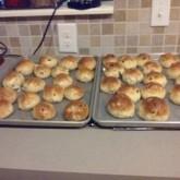 Dutch raisin buns....American made : ))))