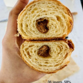 Huan Huan Wang - 7th trial to get a perfect 36 layer croissant!