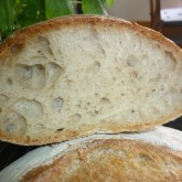 Claartje Baguette Boule with-10-whole-wheat-flourcrumb