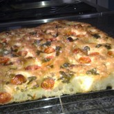 Gill Flesher - Ciabatta-Focaccia with Tomato and Basil