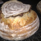 Gill Flesher - Sourdough Loaf with Flying Top