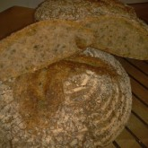 Liz van de Val - San Francisco Style sourdough with pumpkinseed