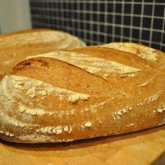 Maaike - Whole Wheat Levain Loaf