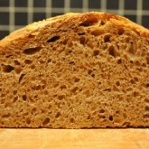 Maaike - Whole Wheat Levain Loaf Crumb