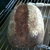 Doris -  Whole Wheat Levain Loaf - First time baked this bread and successfully, can\'t wait for try it at breakfast.