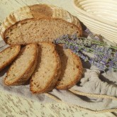 Laura Cardellino - Wholemeal bread with sourdough, honey and lavender