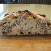 Richard Pickering- Raisin pecan bread made from your Tartine style bread recipe