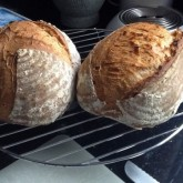 Henny van Ooijen - Sourdough bread: A perfect try and a great taste. Do it again.