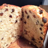 Liona -Panettone - Panettone recipe - this is my first time making and eating a panettone! I have always wanted to try one but have heard horrible comments about how artificial in taste and dry panettones can be. This recipe is perfect and I have to resist eating the whole thing by myself!