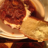 """Lisa Gorski - First time baking """" Crusty White Loaf"""" Mid West Winter Time With Home Made Chilli."""
