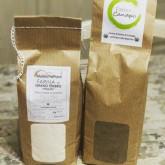Stefano Ferro - Sourdough bread 60% whole wheat, 35% bread flour and 5% of hemp flour