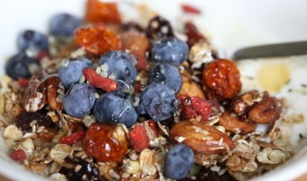Homemade Maple Toasted Muesli