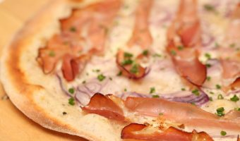 Our recipe for Flammkuchen