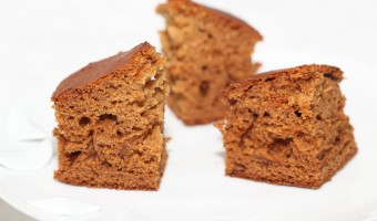 My Dutch speculaas gingerbread cake with rye, buttermilk & honey