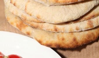 Favorite flatbreads: Sourdough pita