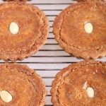 Almond and Cranberry filled Speculaas Pies