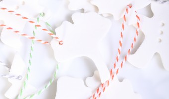 Homemade Cookie Cutter Ornaments