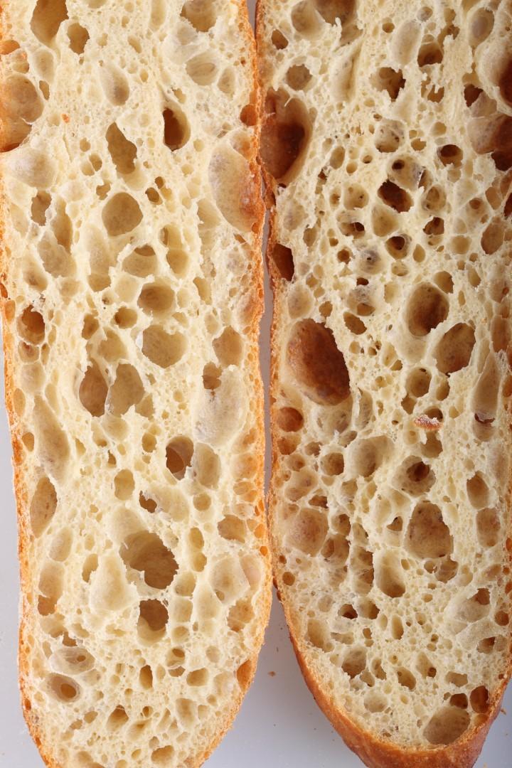 Recipe for 80% hydration baguette – Weekend Bakery