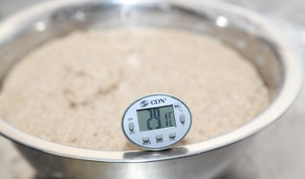 Tips on dough temperature