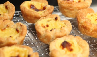 Custard Tarts: one for each hip