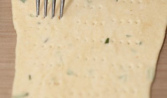 Making Ciappe : Italian Olive Oil Crackers with Rosemary