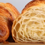 Classic French croissant recipe