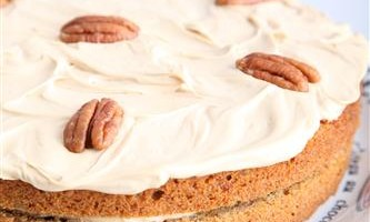 Coffee Pecan Pie with Mascarpone