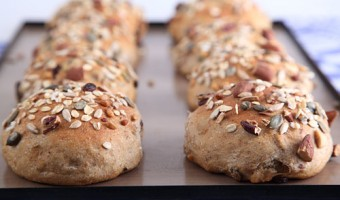 Deliciously Satisfying Muesli Buns